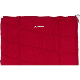 VAUDE Navajo 500 Syn Sleeping Bag dark indian red